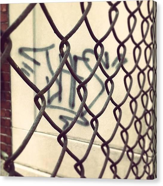Shapes Canvas Print - #graffiti #art #artwork #artist #design by Jenna Luehrsen