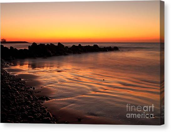 Gran Canaria Sunrise  Canvas Print by Pete Reynolds