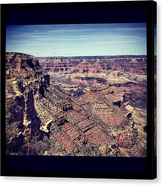 Grand Canyon Canvas Print - Grand Canyon by Isabel Poulin