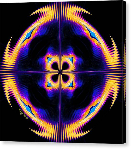 Harmonics Canvas Print