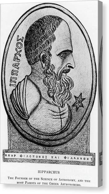 Hellenistic Art Canvas Print - Hipparchus, Greek Astronomer by Photo Researchers, Inc.
