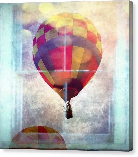 Balloons Canvas Print - Hot Air Balloons by Edward Sobuta