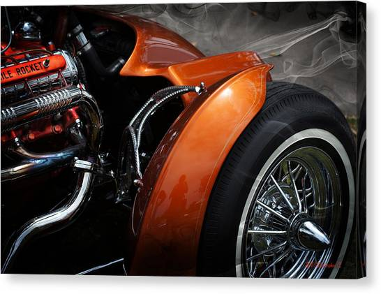 Hot Oldies Canvas Print by SM Shahrokni