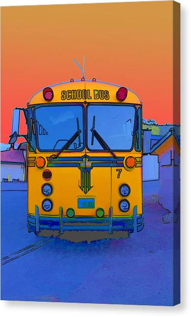 Hoverbus Canvas Print