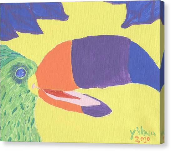 If One Can Toucan Canvas Print