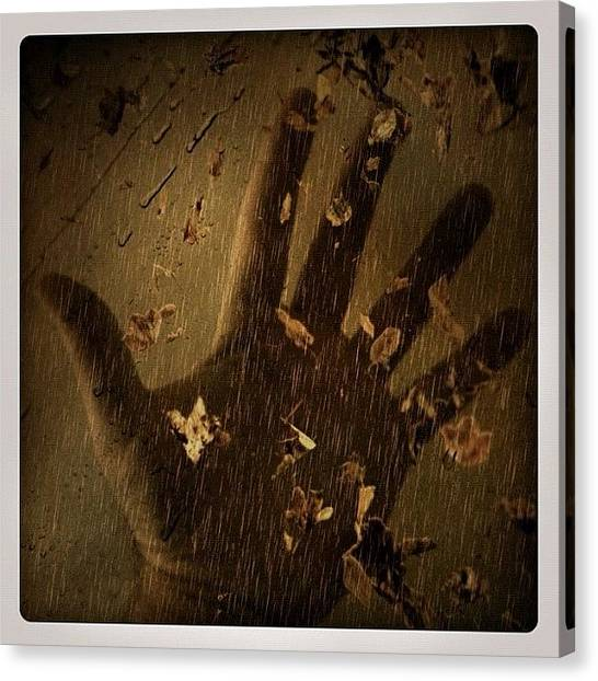 Hands Canvas Print - I'm Very Handy by Bill Cannon