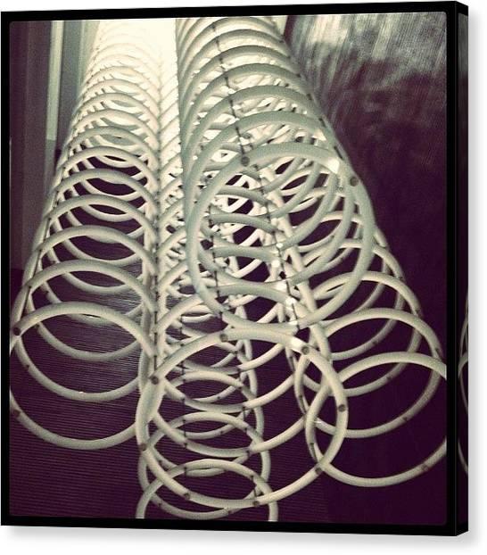 Spiral Canvas Print - #instago #ig #iphone4 #instagram by Tito Santika
