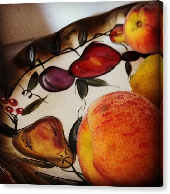 Pears Canvas Print - #instagood #iphonesia by Zain Master