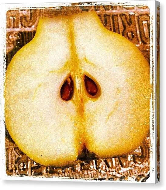 Pears Canvas Print - Instagram Photo by Cassandra Hunter