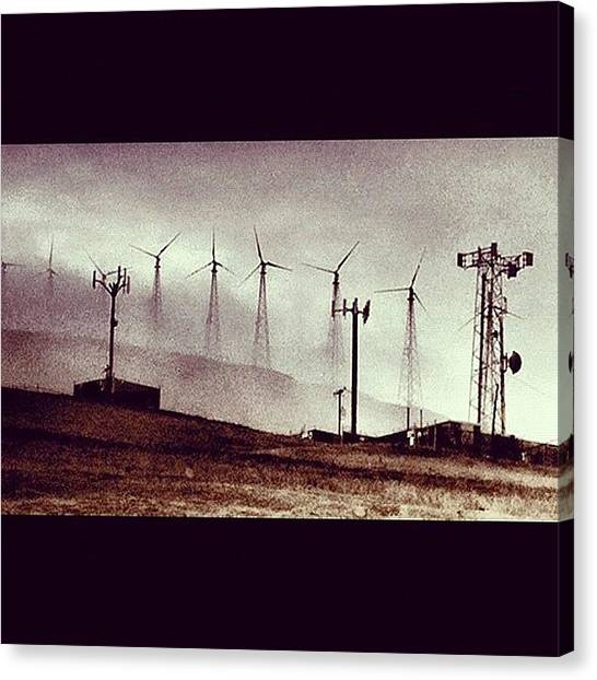 Interstates Canvas Print - Instagram Photo by Chandra Parris