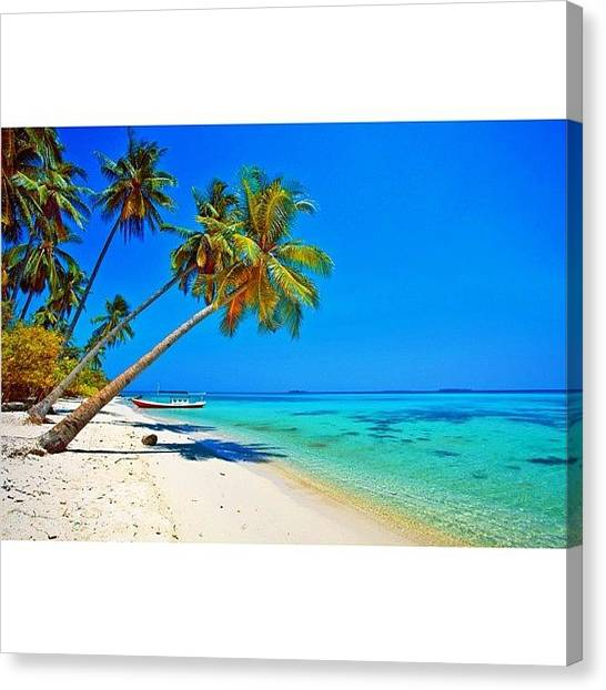 Follow Canvas Print - #instanusantara #instadonesia by Tommy Tjahjono