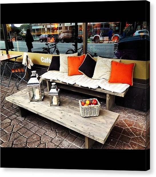 Lounge Canvas Print - #instashouts_tk #norway #bodo #lounge by Anna P