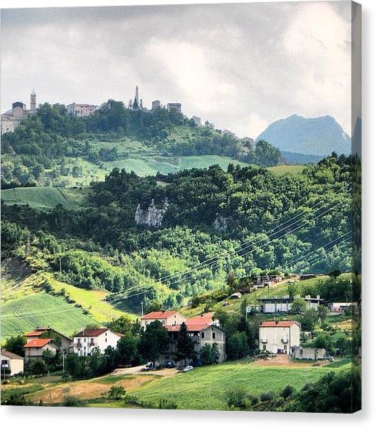 Still Life Canvas Print - Italian Countryside by Chi ha paura del buio NextSolarStorm Project