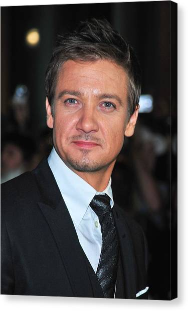 Toronto International Film Festival Tiff Canvas Print - Jeremy Renner At Arrivals For The Town by Everett