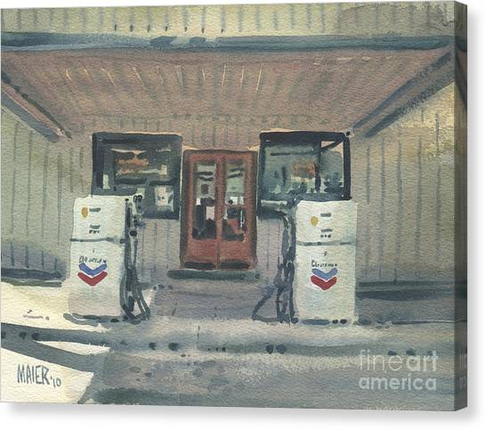 Jimtown Store Canvas Print by Donald Maier