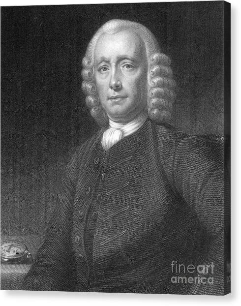 Self Discovery Canvas Print - John Harrison, English Inventor by Photo Researchers