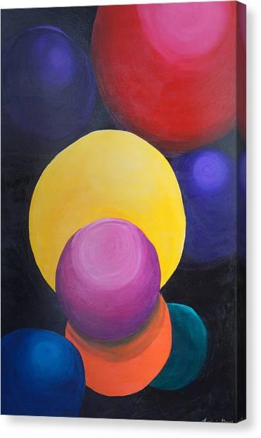 Juggling Balls Canvas Print