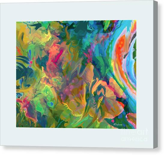 Jungle Spring Canvas Print