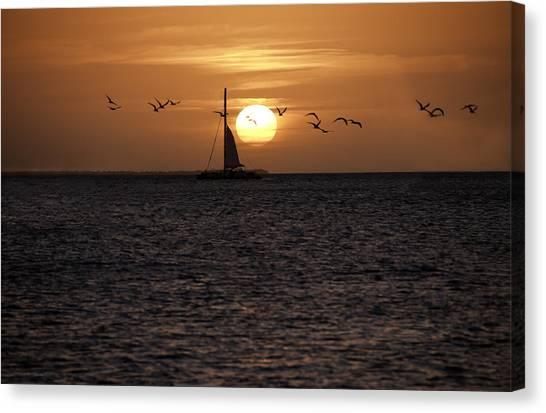 Key West Sunset Canvas Print