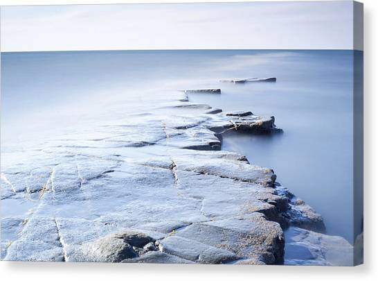 Kimmeridge Bay Canvas Print by Brian Lawrence