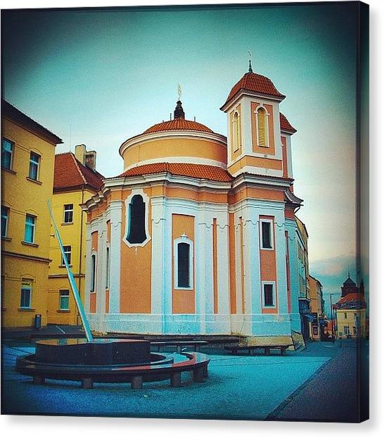 Saints Canvas Print - Kladno,czech by Grigorii Arzhanykh