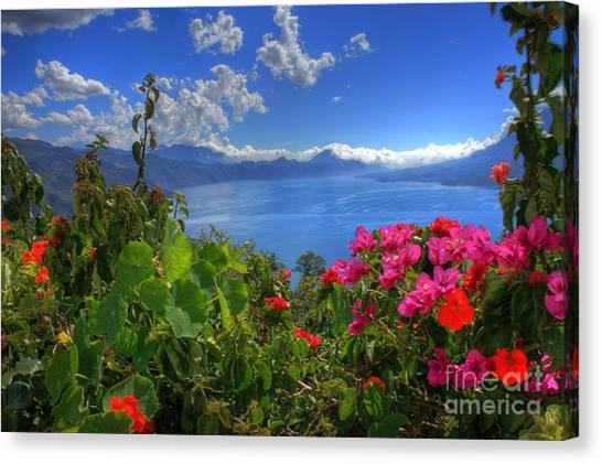 Lake Atitlan Guatemala Canvas Print
