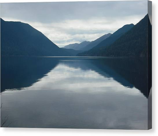 Lake Crescent Canvas Print