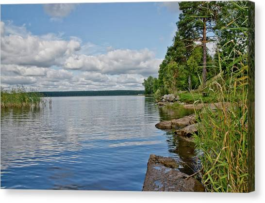 Lake Seliger Canvas Print
