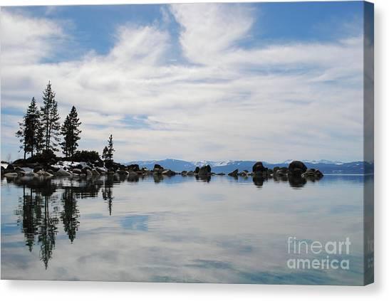 Lake Tahoe Nevada Canvas Print