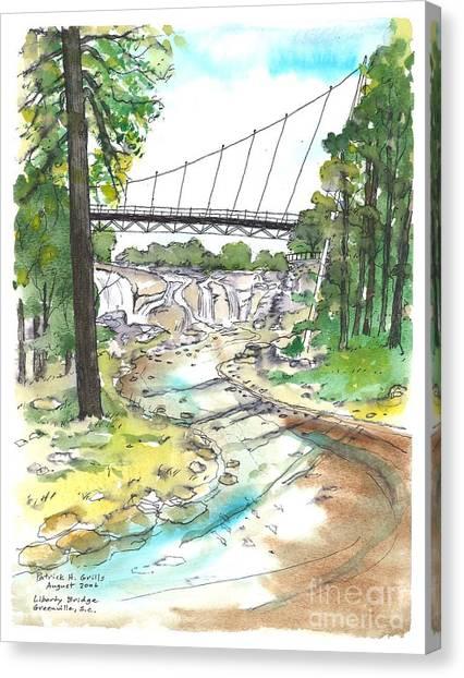 Liberty Bridge Canvas Print