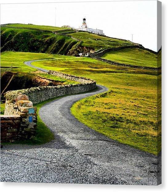 Lighthouses Canvas Print - Lighthouse by Luisa Azzolini