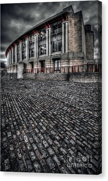 Bristol Canvas Print - Lloyds Building by Adrian Evans