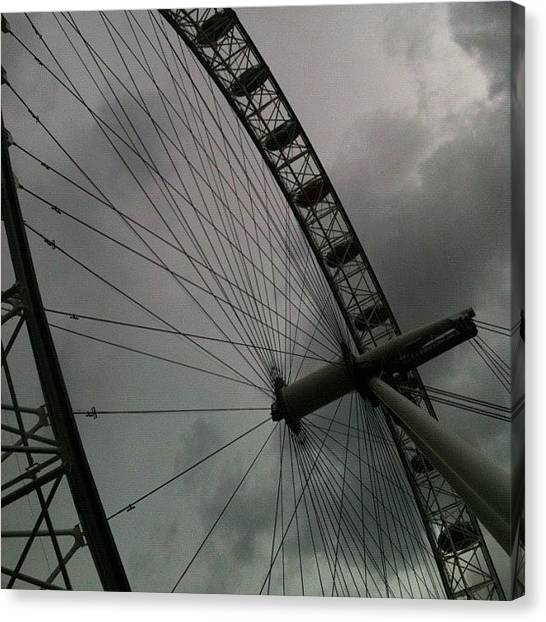 London Eye Canvas Print - London Eye by Steven Black