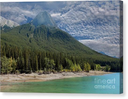 Maligne Lake Jasper Alberta Canvas Print