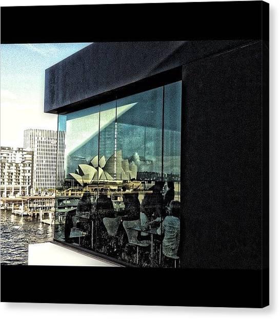 Australian Canvas Print - Mca Sydney by Sydney Australia