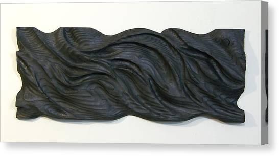 Midnight Canvas Print by Evan Leutzinger