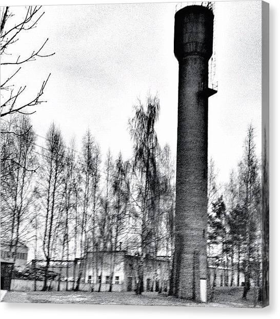 Factories Canvas Print - Minsk by Filipe Carlos