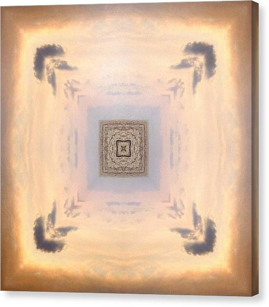 Mandala Canvas Print - #mirrorgram #photoaday #shamgramaday by Dewi Maile Lim