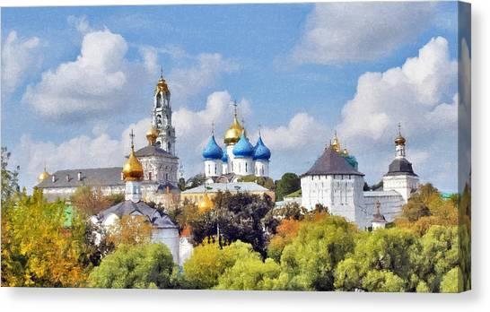 Monastery Panorama  Canvas Print by Aleksandr Volkov