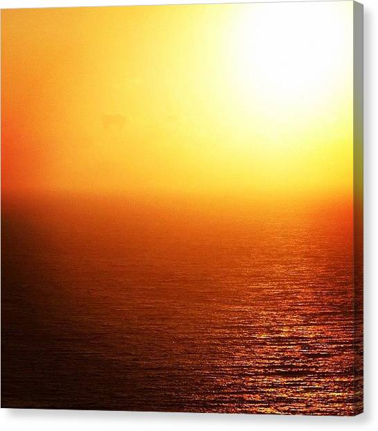Greece Canvas Print - Morning Peeps, Santorini Magic!! by Raffaele Salera