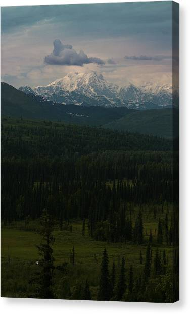 Mount Hunter Canvas Print