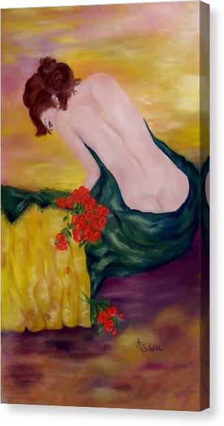 My Valentine Canvas Print
