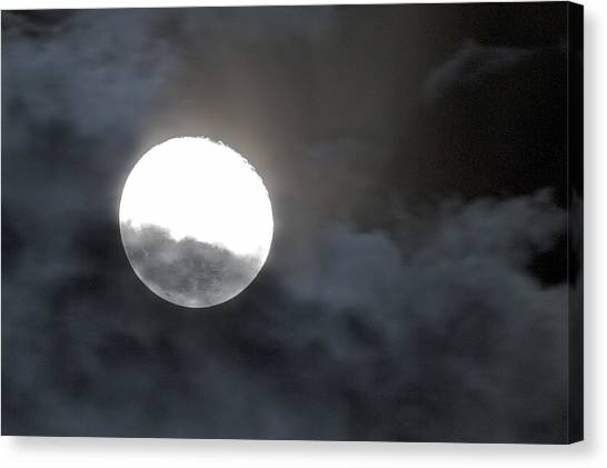 Mysterious Moon Canvas Print