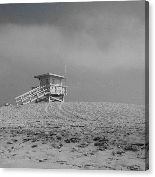 Lifeguard Canvas Print - #nature #nofilter #naturelovers by Tammy List