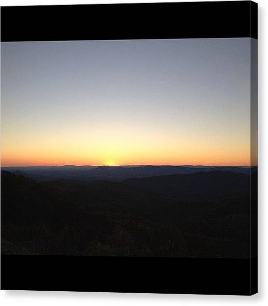 Jeep Canvas Print - #nofilter #ig #skylinedrive by Danielle Smith