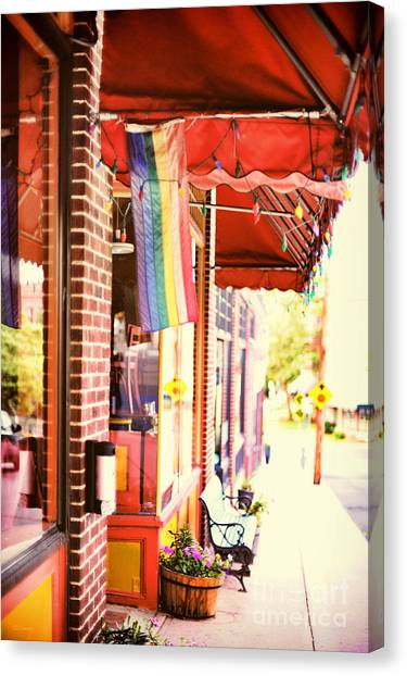 Northampton Ma Canvas Print by HD Connelly