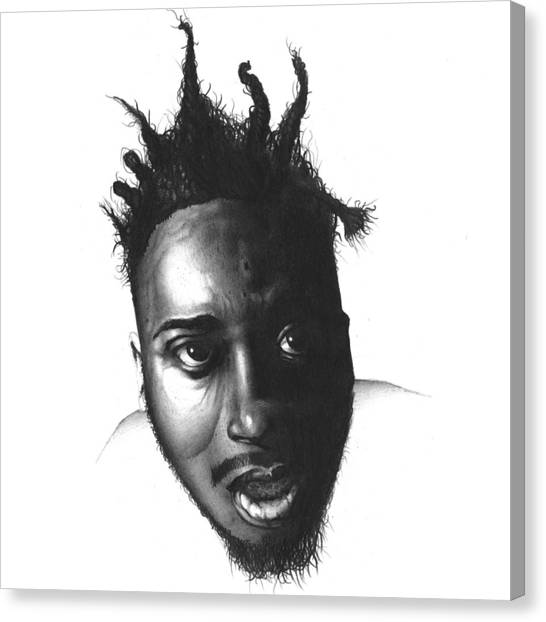 Wu Tang Canvas Print - Old Dirty Bastard by Lee Appleby