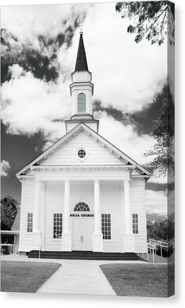 Old Koloa Church Canvas Print