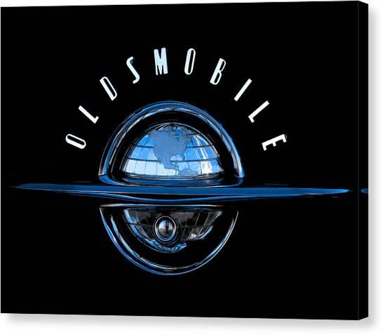 Classic Cars Canvas Print - Old World by Douglas Pittman