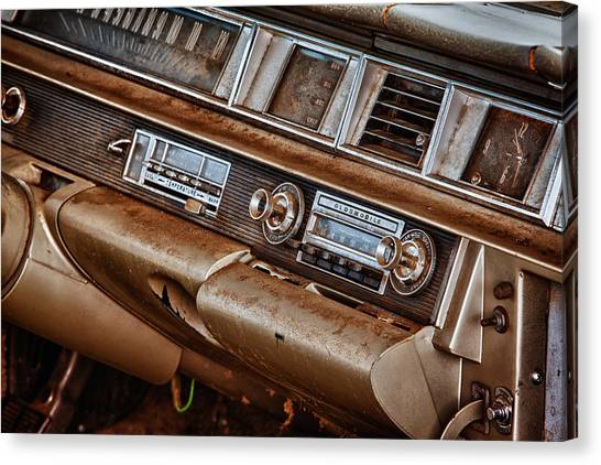 Oldsmobile Canvas Print by Richard Steinberger